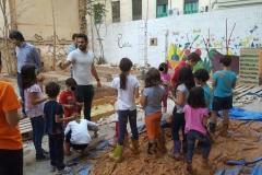 """Semana de la Arquitectura 2016. Taller niños. """"Construye con las manos en la tierra"""""""