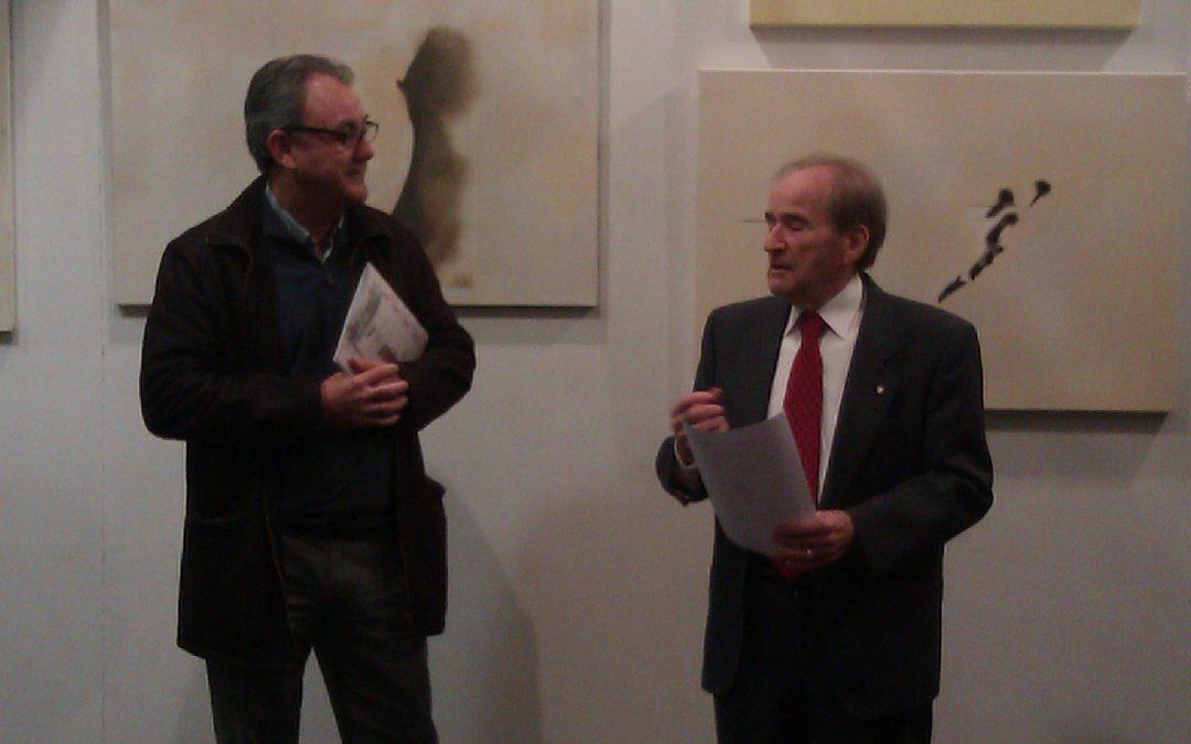 Inauguración exposición Luis Martínez Candel