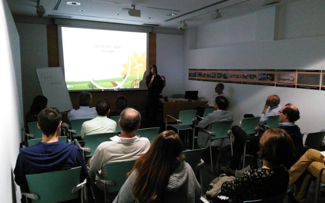 """Conferencia """"Sistemas naturales de eficiencia energética e hídrica. Diseñando sostenibilidad"""""""