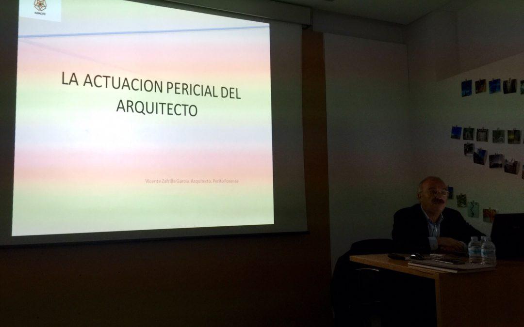 """Jornada """"Deberes y responsabilidades de los arquitectos peritos"""""""