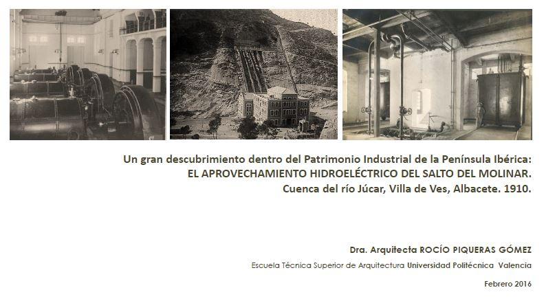 Presentación tesis doctoral: el aprovechamiento hidroeléctrico del Salto del Molinar