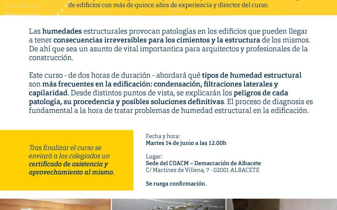 Jornada: Patologías de las humedades estructurales
