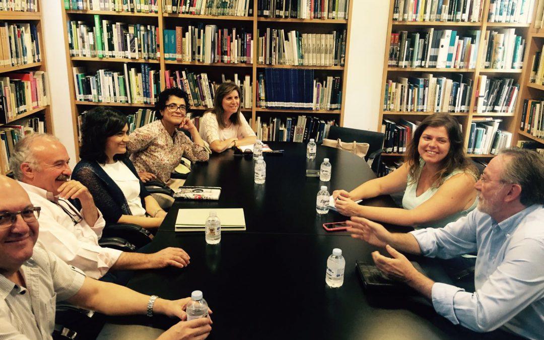 Reunión con el COAATIE de Albacete