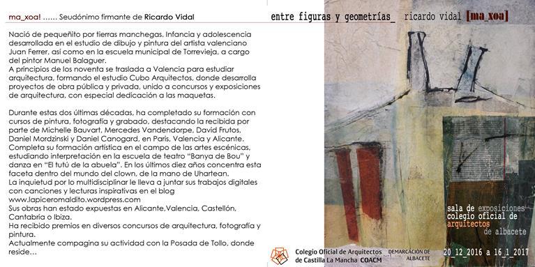 """Inauguración exposición ma_xoa: """"entre figuras y geometrías"""""""