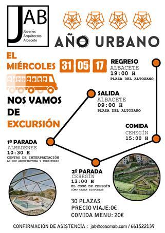 Viaje organizado por Jóvenes Arquitectos de Albacete