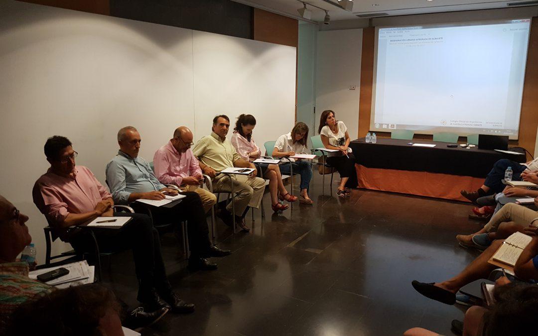 Regeneración urbana en Albacete: inicio de un proceso de reflexión