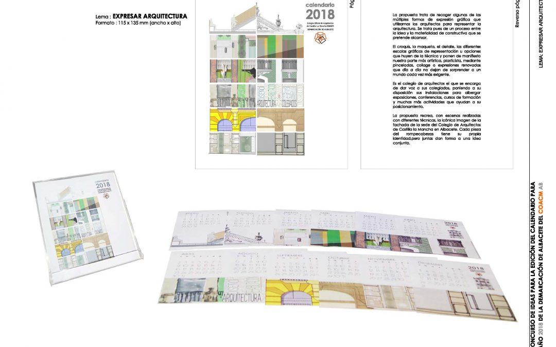 Fallo IX Concurso de Ideas Calendario COACM AB 2018