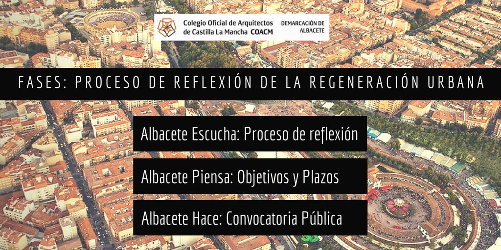 Fases Regeneracion urbana en albacete