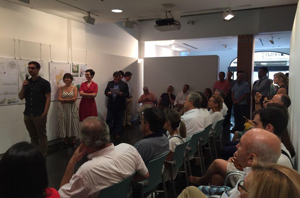 Entrega de premios de Concurso de Ideas Ordenación Entorno Plazas Catedral y Constitución