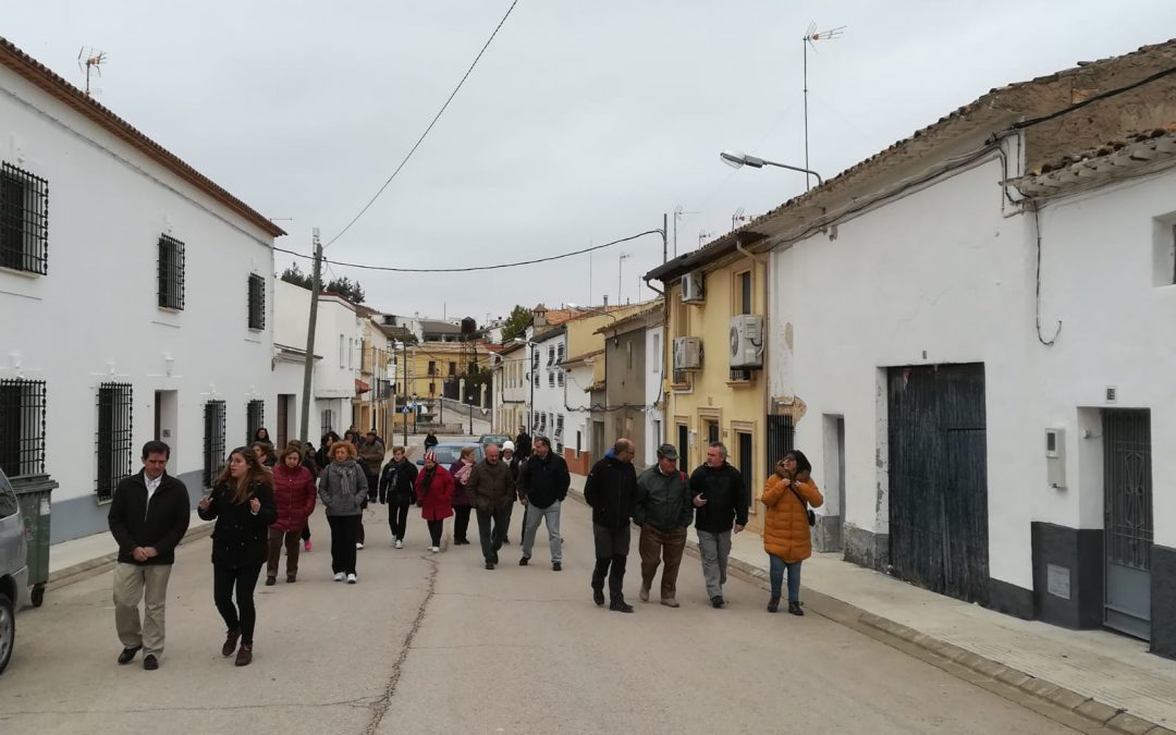 "Realizada la ruta ""Paisajes transformados"" en Fuensanta."