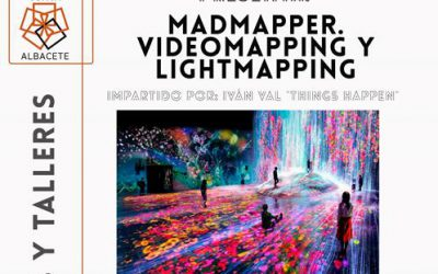 Taller videomapping y lightmapping