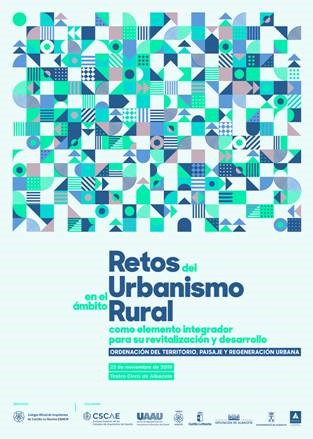 """Jornada Técnica """"Retos del Urbanismo en el ámbito rural como elemento integrador para su revitalización y desarrollo"""","""