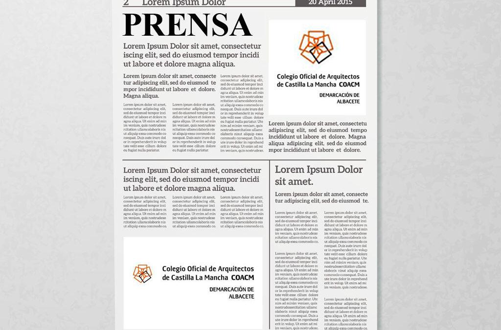 """Justo Isasi cierra el ciclo """"Chispazos de talento"""" del Colegio de Arquitectos – La Tribuna 05/05/2018"""