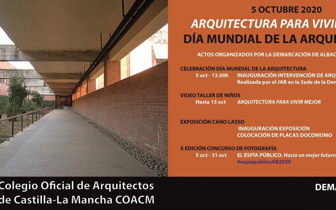 Manifiesto CSCAE- Día Mundial de la Arquitectura 2020