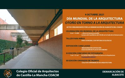 Actividades celebración del Día Mundial de la Arquitectura.