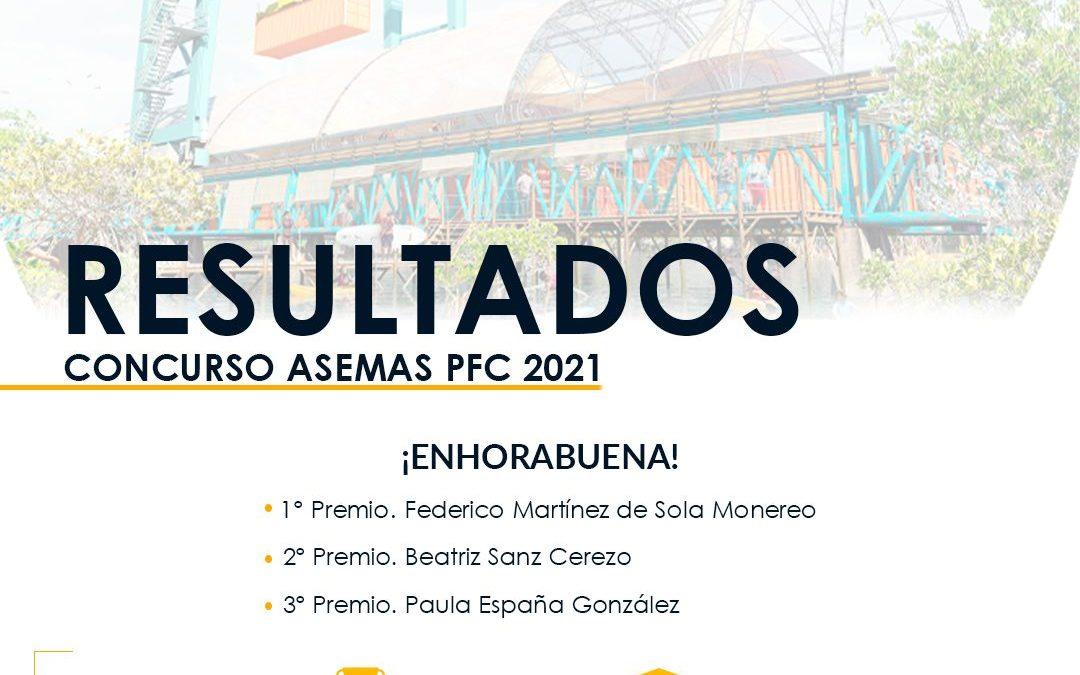 Resultados Concurso Asemas PFC 2021